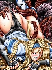 Yumie Takagi got screwed by Scary Monster