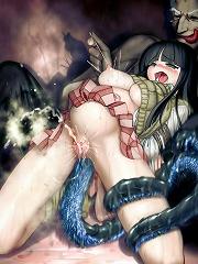 Amazing tentacle hentai pics