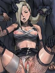 Kikyo with sweet boobs receives facial blast